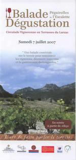 Circulade Vigneronne en Terrasses du Larzac 2007