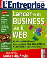 Magasine L'Entreprise de juin 2007
