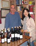 Gérard Foltran et Harumi Tsuji